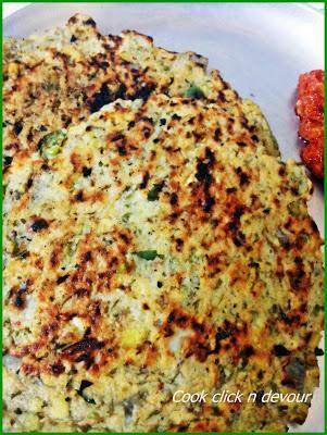 Moong dal banzi-(Moong dal flat bread)