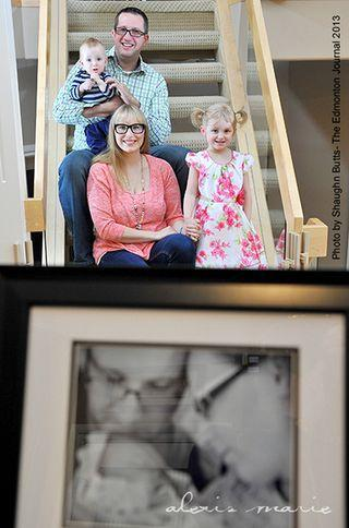 Chute Family Photo by S Butts for Edmonton Journal copyright Alexis Marie Chute