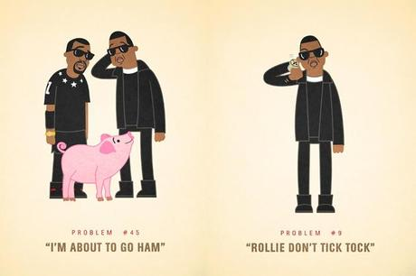 Ali Graham Illustrates Jay-Z's 99 Problems