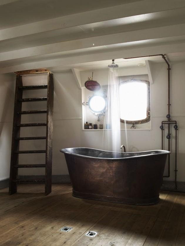 Found online 30 great industrial bathroom designs paperblog for Bathroom designs online