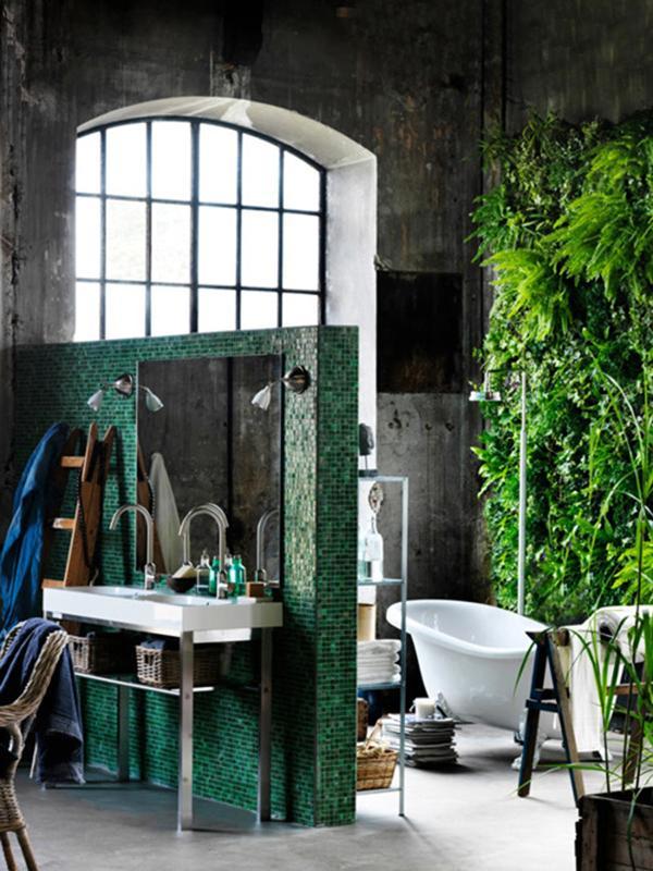 Found Online: 30 Great Industrial Bathroom Designs