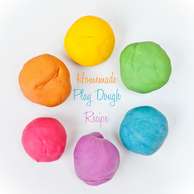 Make Play Food Salt Dough