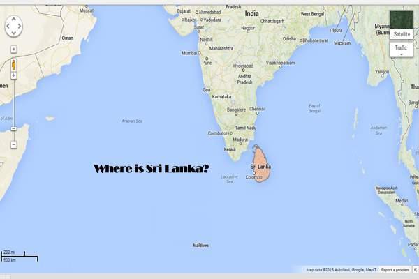A Blogger Named Mayura Who Is He And Where Is Sri Lanka Paperblog - Where is sri lanka