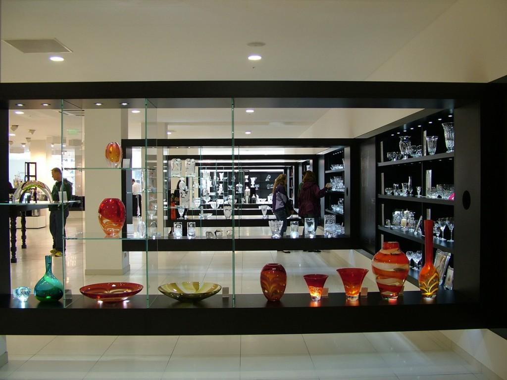 main showroom - waterford crystal - ireland