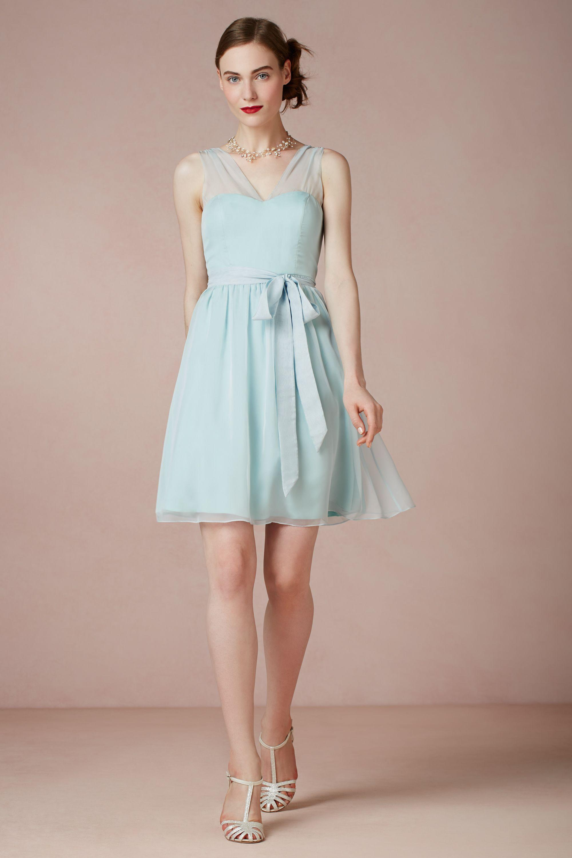 Gallery For Powder Blue Bridesmaid Dresses