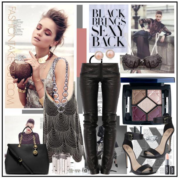High Street Fashion Black Brings Sexy Back Paperblog