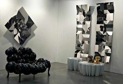Tessellated Stainless Steel Wall Art