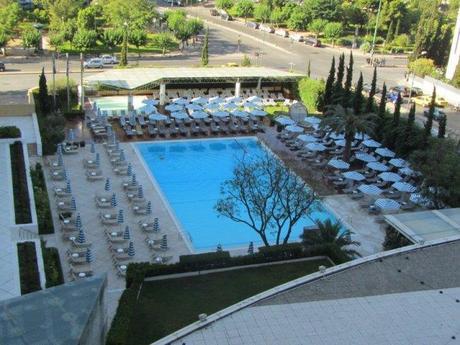Pool at the Athens Hilton