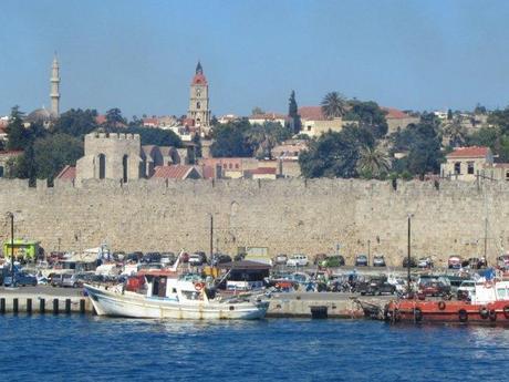 Walled City in Rhodes
