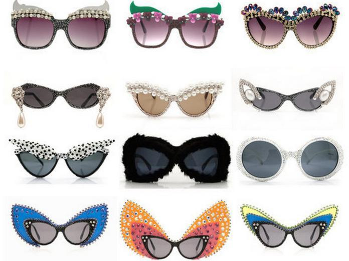 A-Morir embellished sunglasses 2