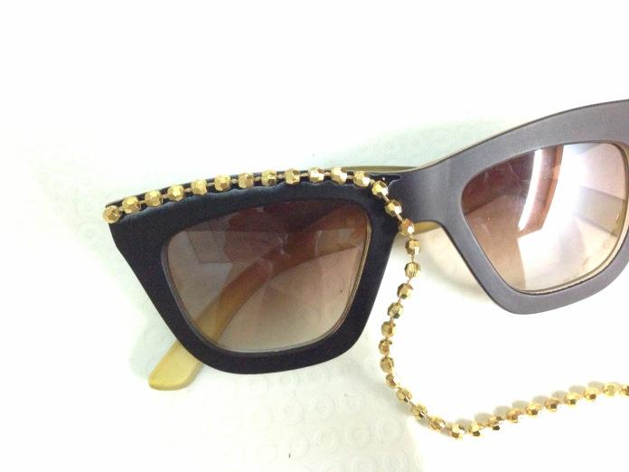 DIY: Embellished Sunglasses