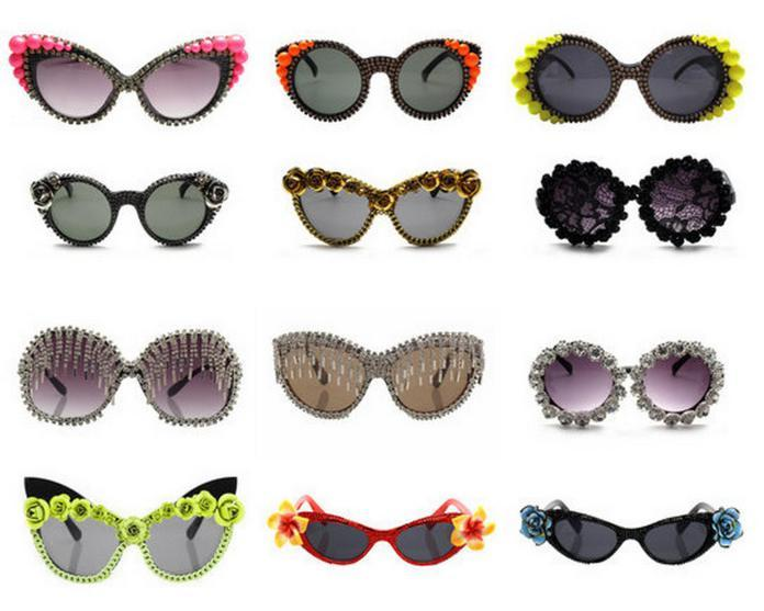 A-Morir embellished sunglasses