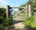 The gate to the Grochall Track (photo: Amanda Scott)