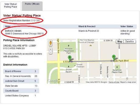Obama voter registration