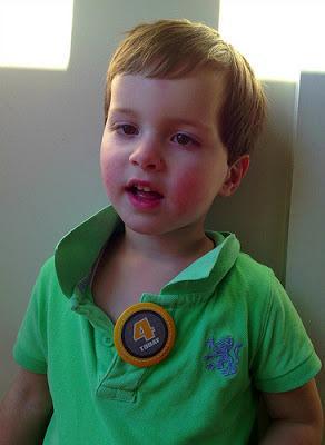 Sam turns 4
