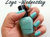 Zoya Wednesday Swatches Review