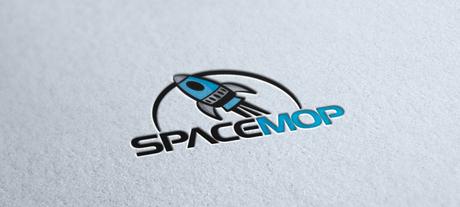 Spacemop logo design
