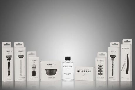 Gillette packaging concept