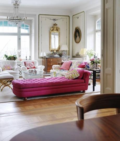 Vintage modern interior