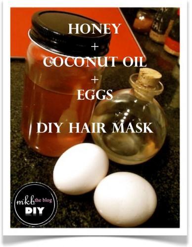 Diy Hair Mask Egg Whites Honey Coconut Oil Paperblog