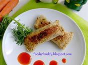 Vegetable Bread Roll Veggie Rolls Indian Snack Recipe