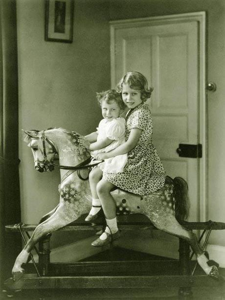 Princess Elizabeth and Princess Margaret rocking horse a Welcoming the Royal Baby, His Royal Highness Prince TBD of Cambridge
