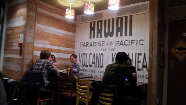 Kua 'Aina, the hawaiian barbecue in London
