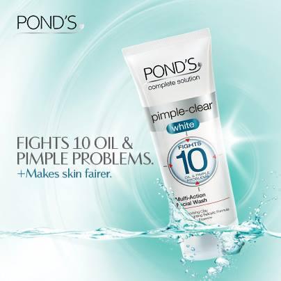 Pr Info Pond S Pimple Clear White Facial Wash Paperblog