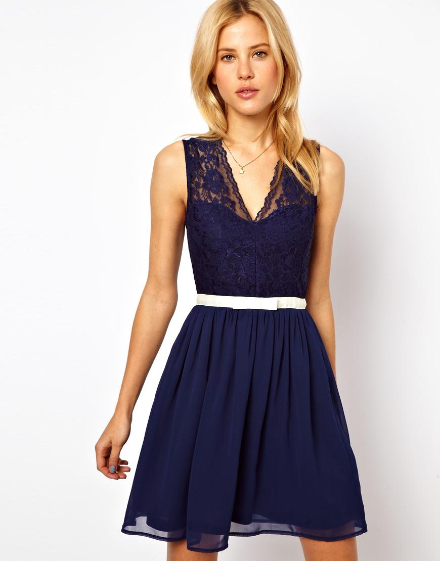 Adorable And Affordable Navy Bridesmaids Dresses Paperblog