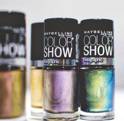 holographic nail polish maybelline