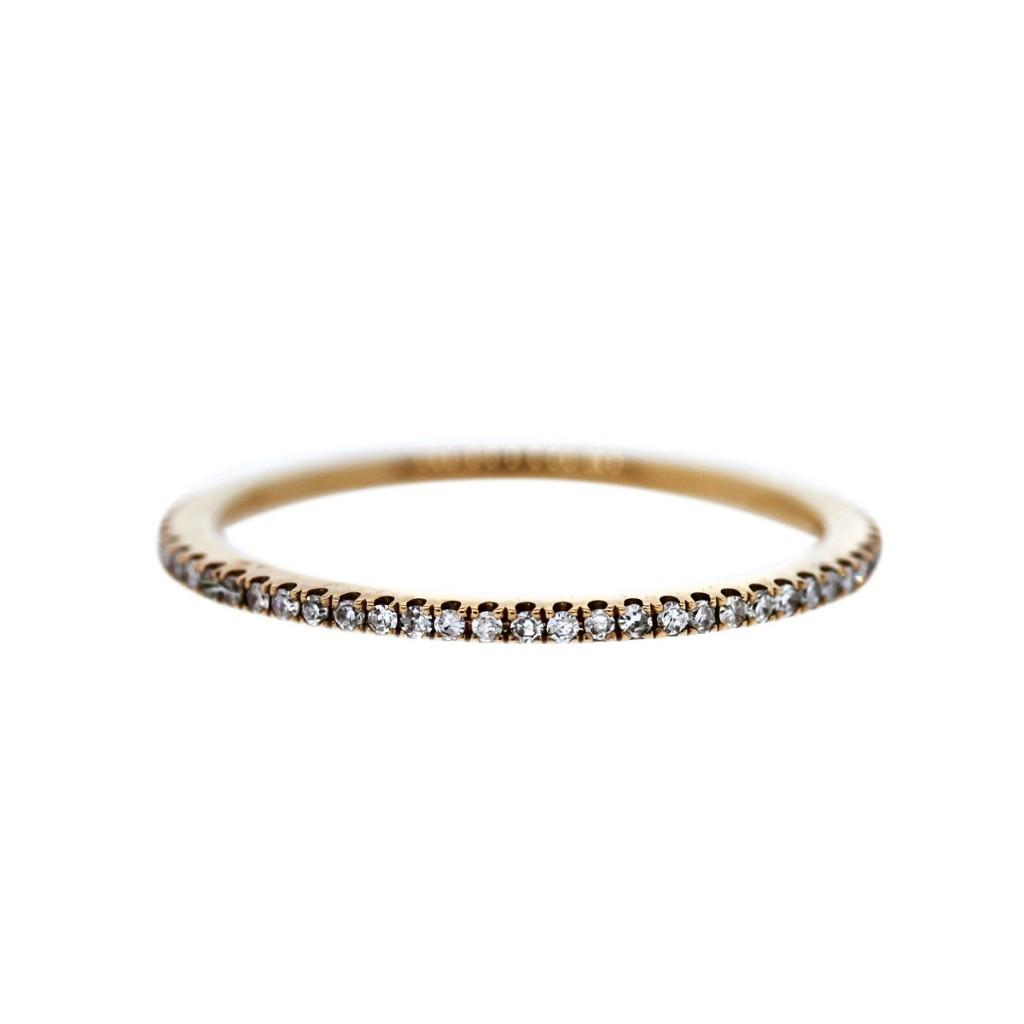 rose gold wedding bands gold wedding bands Rose gold and diamond wedding ring