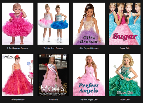 Pageant Dresses For Little Ones