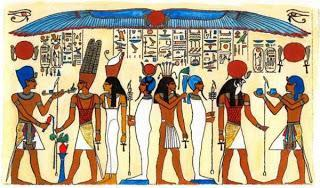 Ancient Egyptian Tomb Paintings