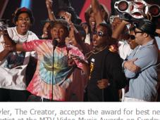 GLAAD Criticizes Allowing Tyler Creator Moonman