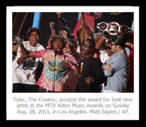 GLAAD Criticizes MTV For Allowing Tyler Tha Creator To Win The MTV VMA Moonman