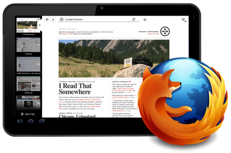 Firefox For Tablets [Preview]