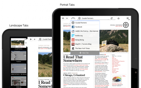 Firefox for Tablets - Tabs