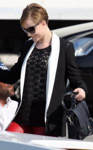 Evan Rachel Wood in Venice for Premiere of 'Ides of March'