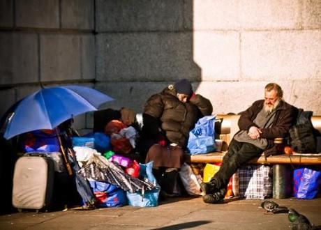 Middle class homelessness on the rise?