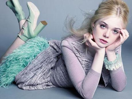 elle fanning: 13 and a fashion icon?