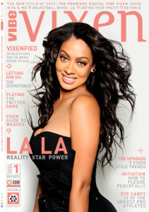 Lala Anthony Graces Vibe Vixen Magazine To Discuss LGBT And Her New Show