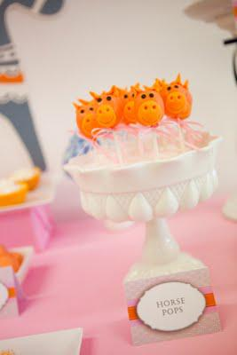 Dala Horse Baby Shower - Which featured in Peekaboo Magazine