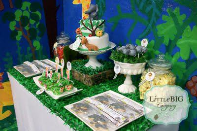 1st Holy Communion Dessert Buffet, Jungle Dessert Buffet, Mathildas Markets - Busy Little Bigs!