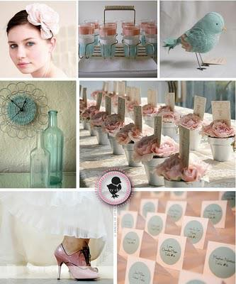 Gelato Bridal Shower Dessert Table and pale color palette in the home