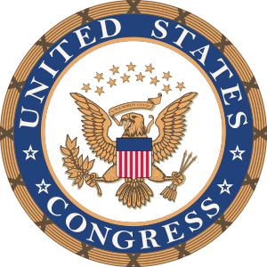 Unofficial seal of the United States Congress