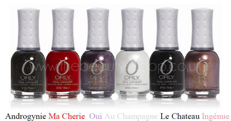 ORLY 'Holiday Soiree' Collection For Christmas 2011!