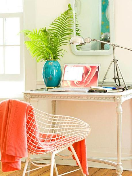 Pretty home offices and workspaces