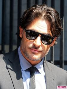 Joe Manganiello says: 'taking off his clothes, a typical day at the office'