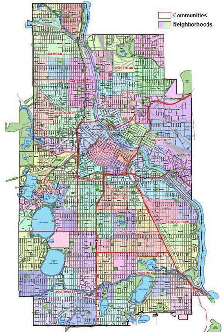 Mpls-neighborhood communities