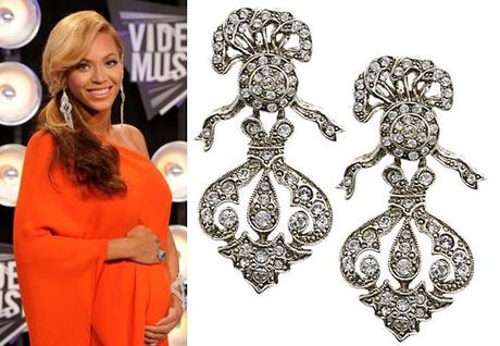 beyonce earringsFab Find Friday: VMA Fall Fashion